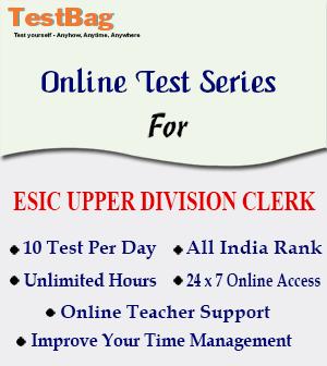 ESIC-UPPER-DIVISION-CLERK