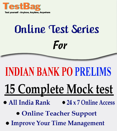 INDIAN-BANK-PO-PRELIMS-MOCK-TEST